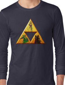 Triforce - The Legend Of Zelda Long Sleeve T-Shirt
