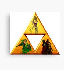 Triforce - The Legend Of Zelda Canvas Print