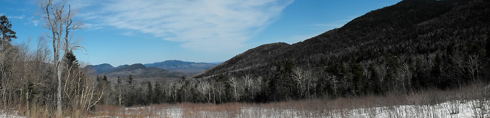 The view on the Kanc.... New Hampshire by EMElman