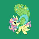 Fancy Fluttershy by jellysoupstudio