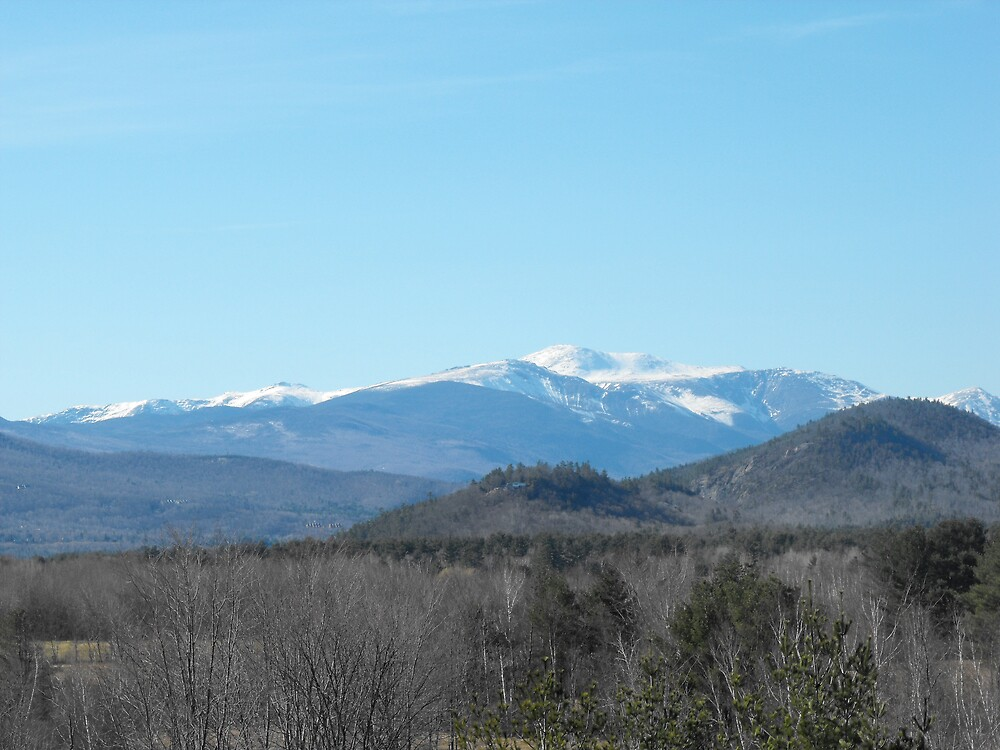 A view of Mount Washington by EMElman