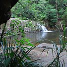 Waitui Falls by Graham Mewburn