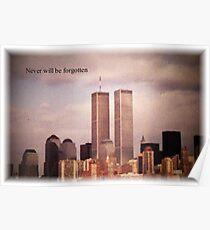 Zwillingstürme, NY Poster