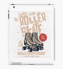 Rollschuh iPad-Hülle & Klebefolie