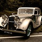 An Old Alvis by Bob Martin