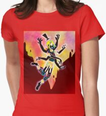 Psychedelic Women's Fitted T-Shirt
