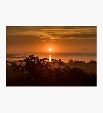 Gippsland Lakes Sunrise Photographic Print