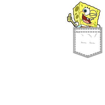 SpongeBob on My Pocket by ainecreative