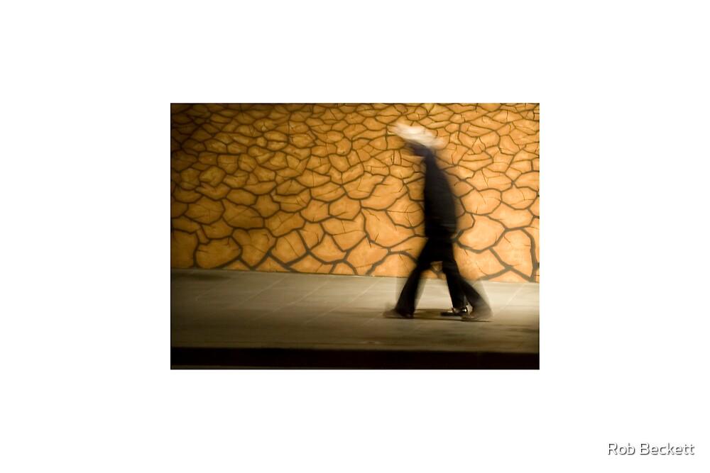 Melbourne Nightwalking by Rob Beckett