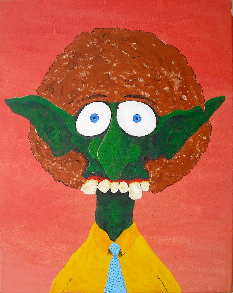 Troll With An Afro by BaxterKing