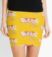 DOODLEART KIWI Mini Skirt
