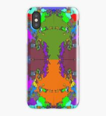 ABSTRACT GRAPHIC PRINT { BIG COUNTRY} BY JANE HOLLOWAY iPhone Case