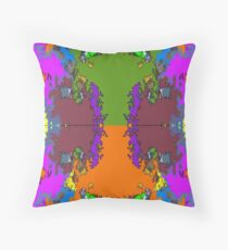 ABSTRACT GRAPHIC PRINT { BIG COUNTRY} BY JANE HOLLOWAY Throw Pillow