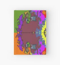 ABSTRACT GRAPHIC PRINT { BIG COUNTRY} BY JANE HOLLOWAY Hardcover Journal