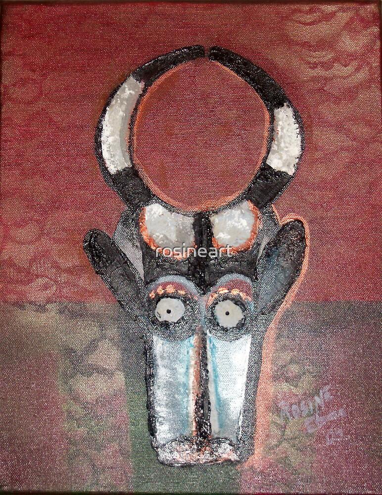 Mask 3 by rosineart