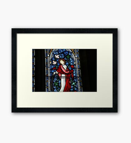 Stained Glass, 1 Framed Print