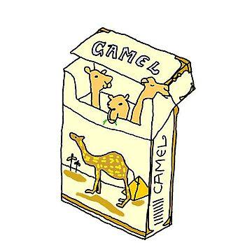 Camel Cigarettes by LeakyLake
