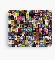 MUSICALS 2 (Duvet, phone case, mug, sticker etc) Canvas Print