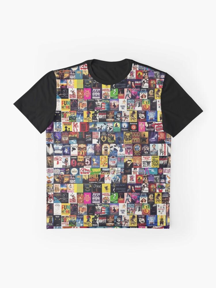 Alternative Ansicht von MUSIKALIEN 2 (Bettdecke, Handyhülle, Becher, Aufkleber usw.) Grafik T-Shirt