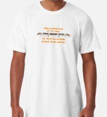 Camiseta larga Por favor deje libre el acceso a las puertas