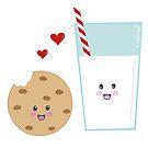 Milk and Cookies by KathrinLegg