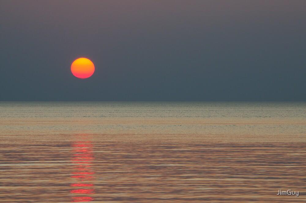 Sunset over Lake Superior by JimGuy