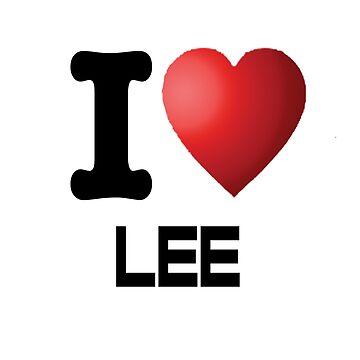 I Heart Lee by jbtiger1992