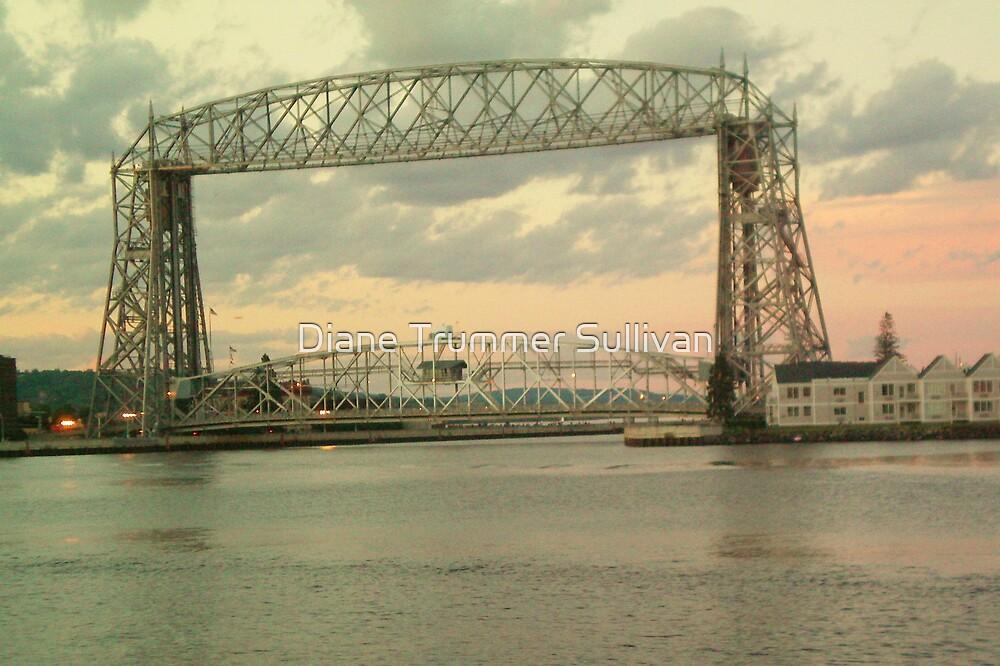 Duluth Minnesota ~ Ariel Lift Bridge by Diane Trummer Sullivan