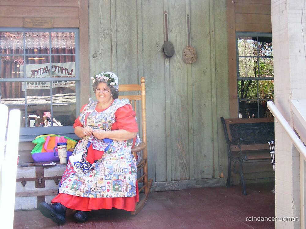 Woman at Dollywood by raindancerwoman