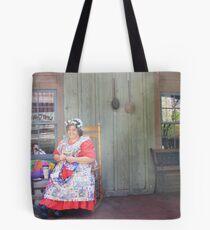 Woman at Dollywood Tote Bag