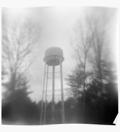 Ladd Water Tower #2 Poster