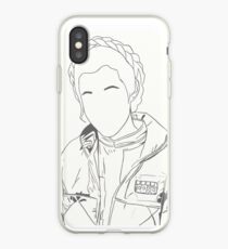 Princess Leia/Carrie Fisher iPhone Case
