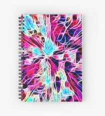 White Web Spiral Notebook