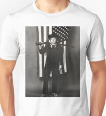 Phil Ochs Amerikanische Flagge Unisex T-Shirt