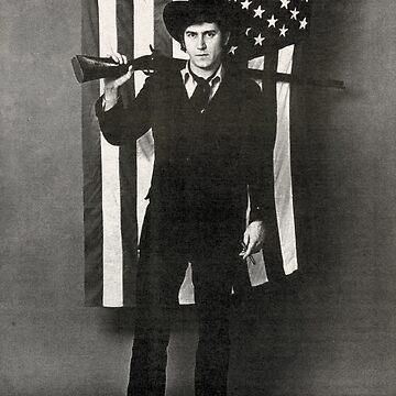 Phil Ochs American Flag by nodeeperblue