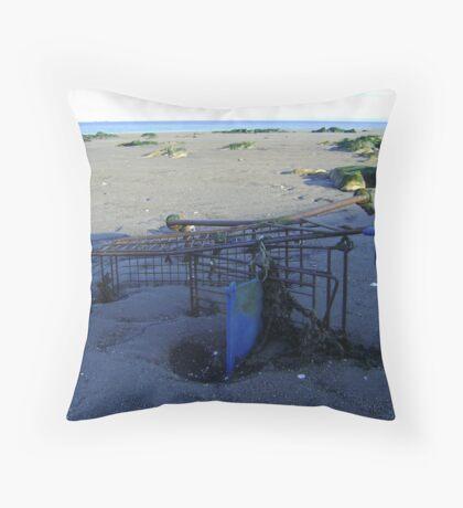 epitaph to consumerism Throw Pillow