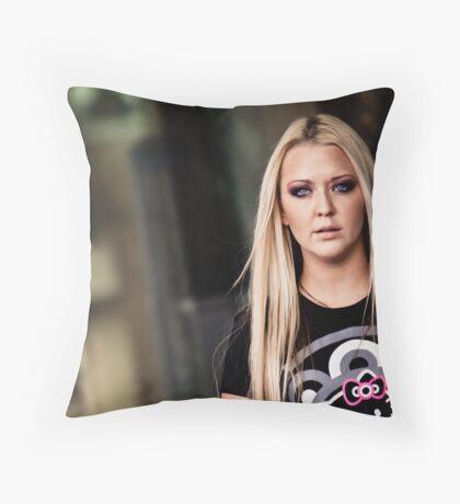 DJs Throw Pillow