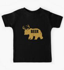 BEAR DEER BEER Kids Tee