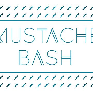 mustache bash metro by maydaze