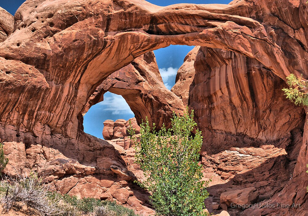 Double Arch by Gregory Ballos