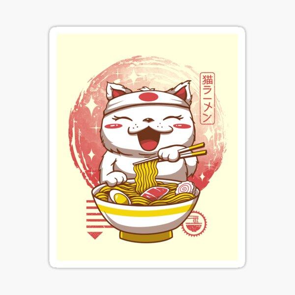 Neko Ramen Sticker