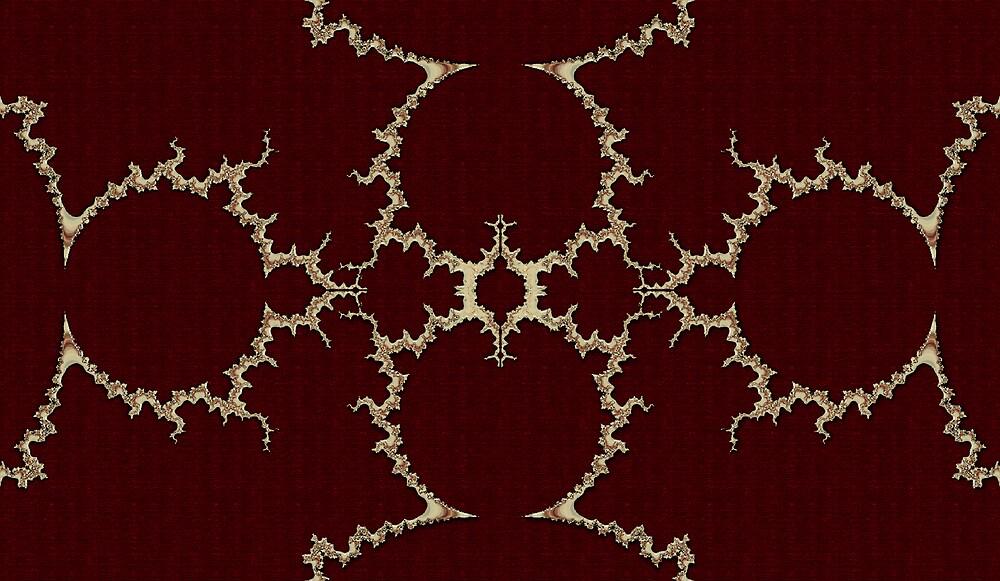 Glass Mandelbrot. by Hugh Fathers