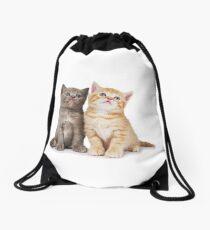 Cat shirt/Cat apparel/Cat clothes Drawstring Bag