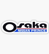 Osaka Nissan Prince Dealership Sticker
