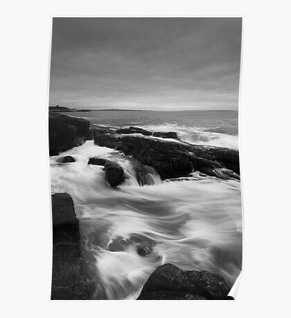 Newton Rocks Surf Poster