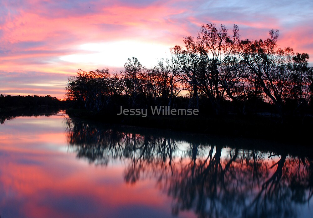 pink sunset by Jessy Willemse