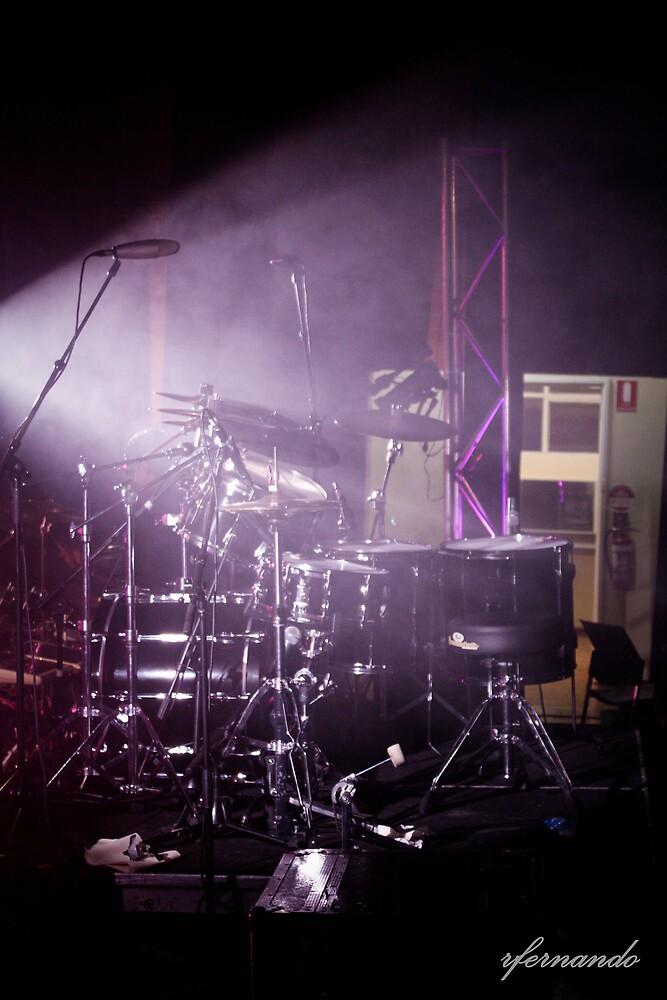Drum Set by Rukshan Fernando