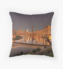 Story Bridge Throw Pillow
