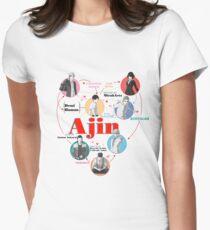 Ajin Falsettos Design Women's Fitted T-Shirt