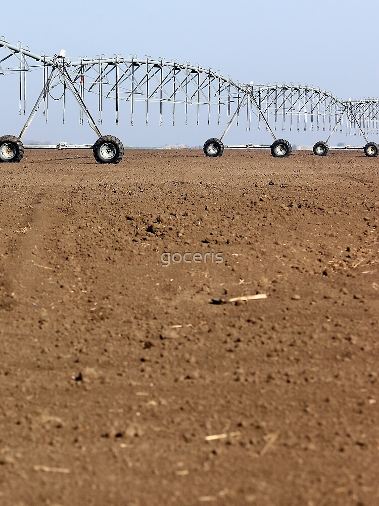 Center pivot Sprinkleranlage auf Ackerlandwirtschaft von goceris